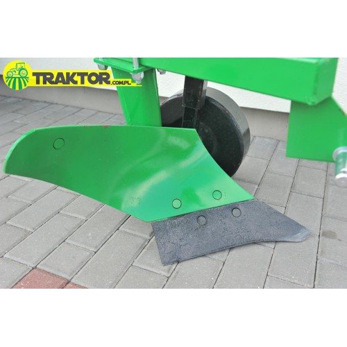 Single-furrow plow 25 cm 1L-1 with a support wheel
