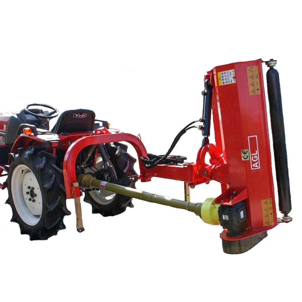 AGL 145 rear-side flail mower
