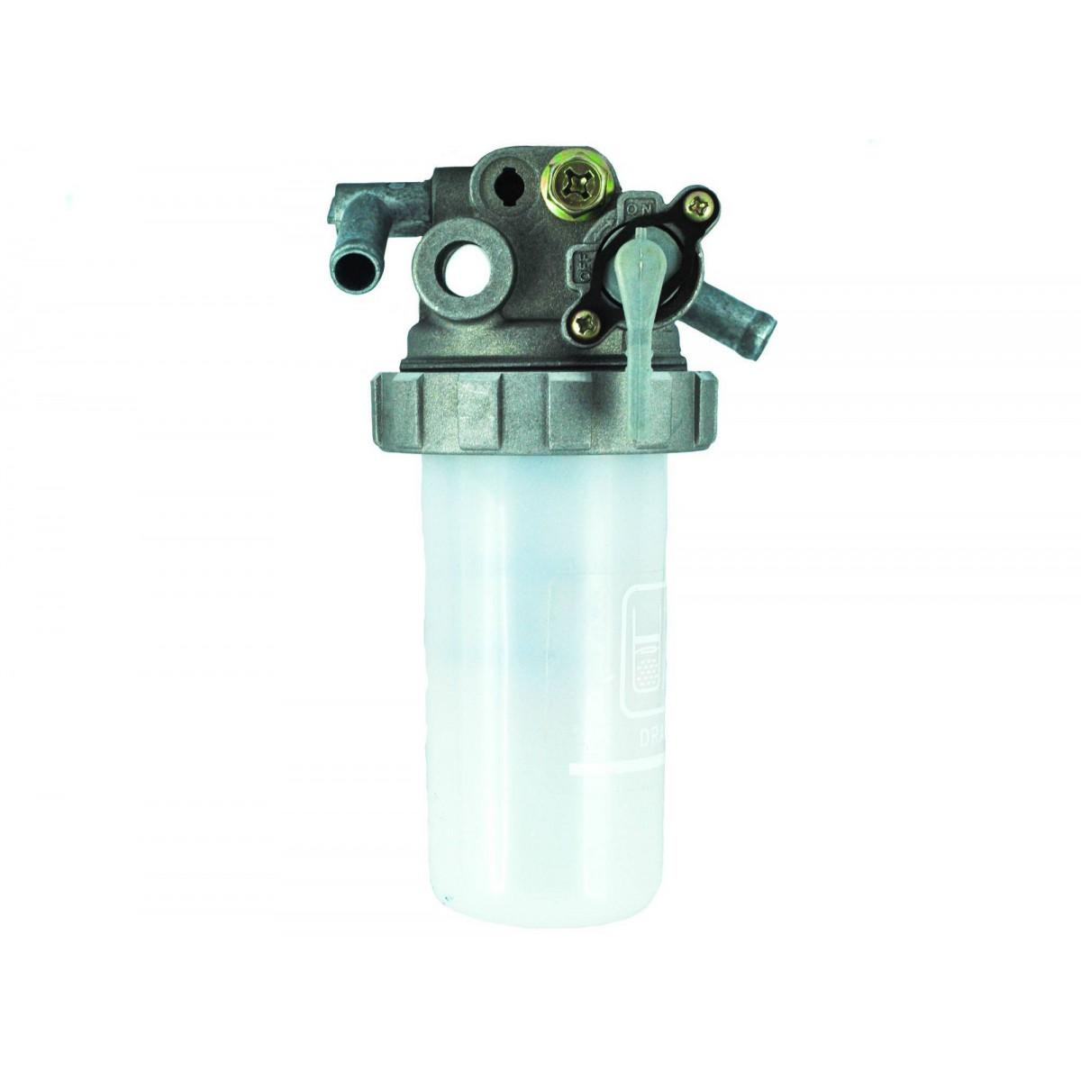 Obudowa filtra paliwa z kranikiem - uniwersalna