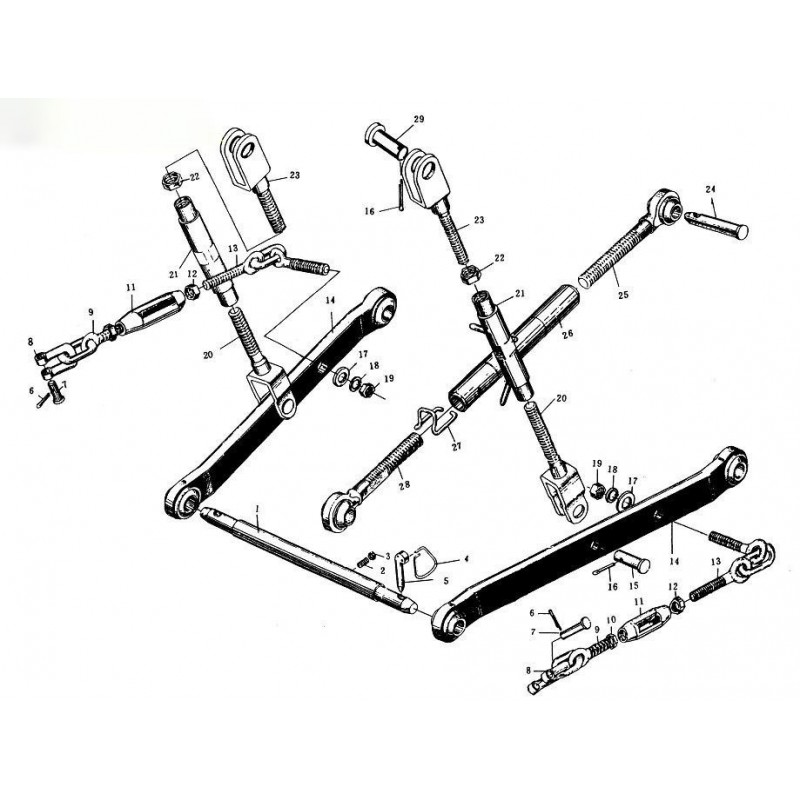 Three-point hitch