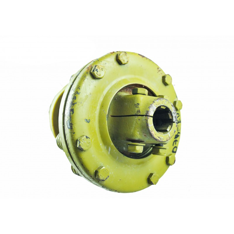 """1 3/8"""" 6T Shaft with PTO friction clutch 07B-ED, length 130 cm"""
