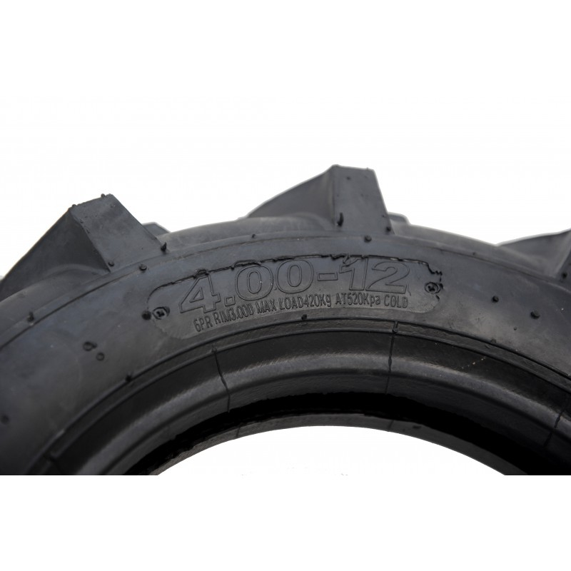 Front agricultural tractor tire 4.00-12 6PR