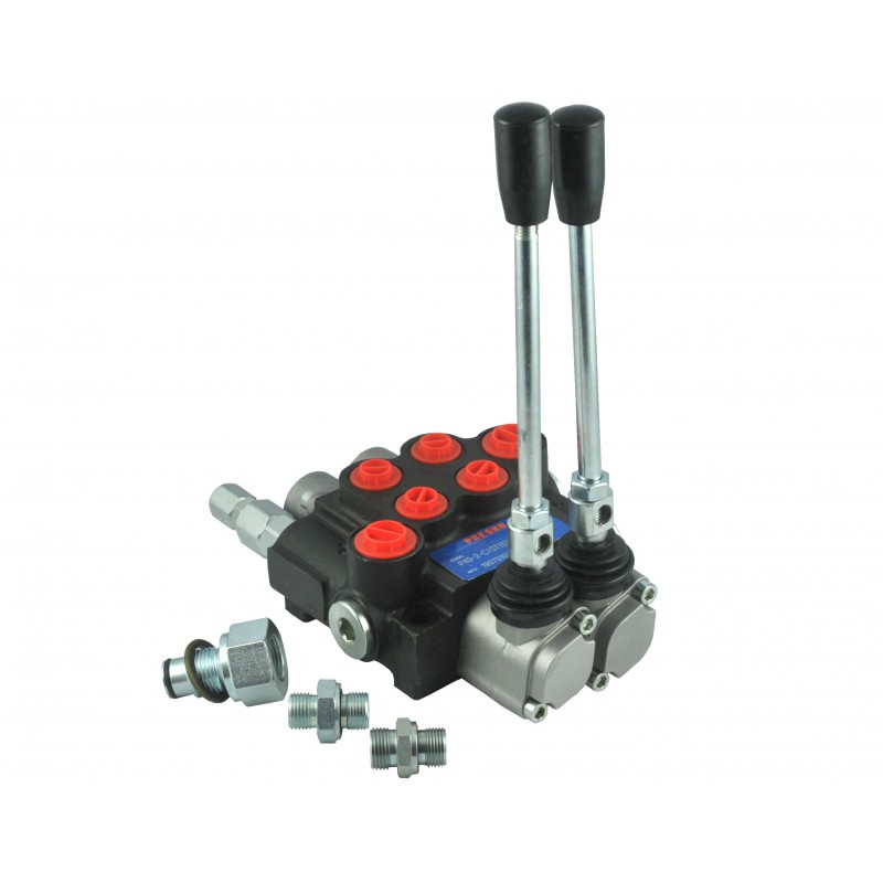 Hydraulischer Splitter 2 Sequential Manual 40L
