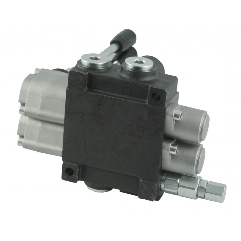 40L 2-section manual distributor