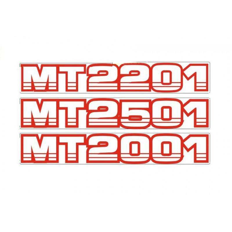Stickers Mitsubishi MT2XX1