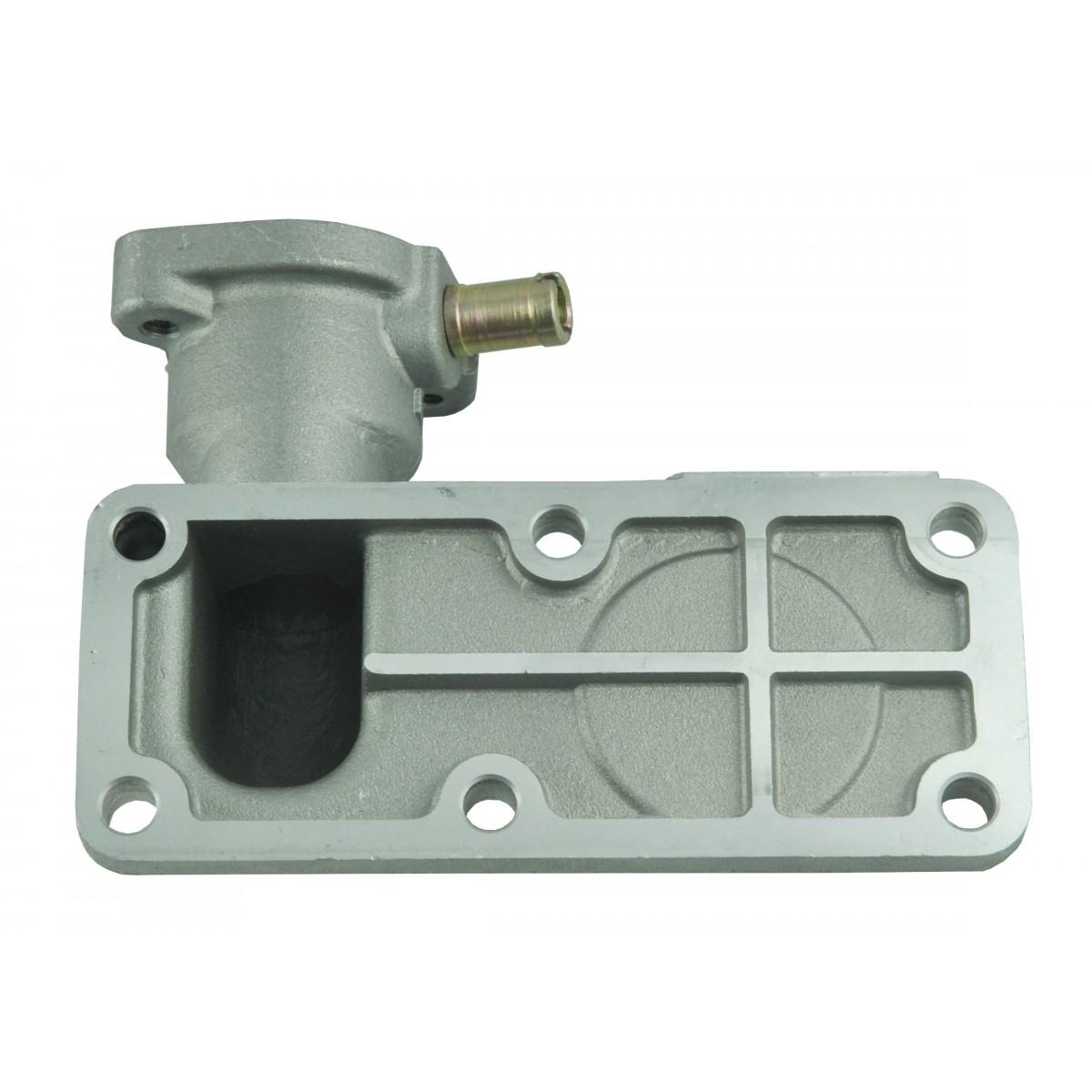 Obudowa termostatu Kubota L2000-L3001 6 otworów + rurka