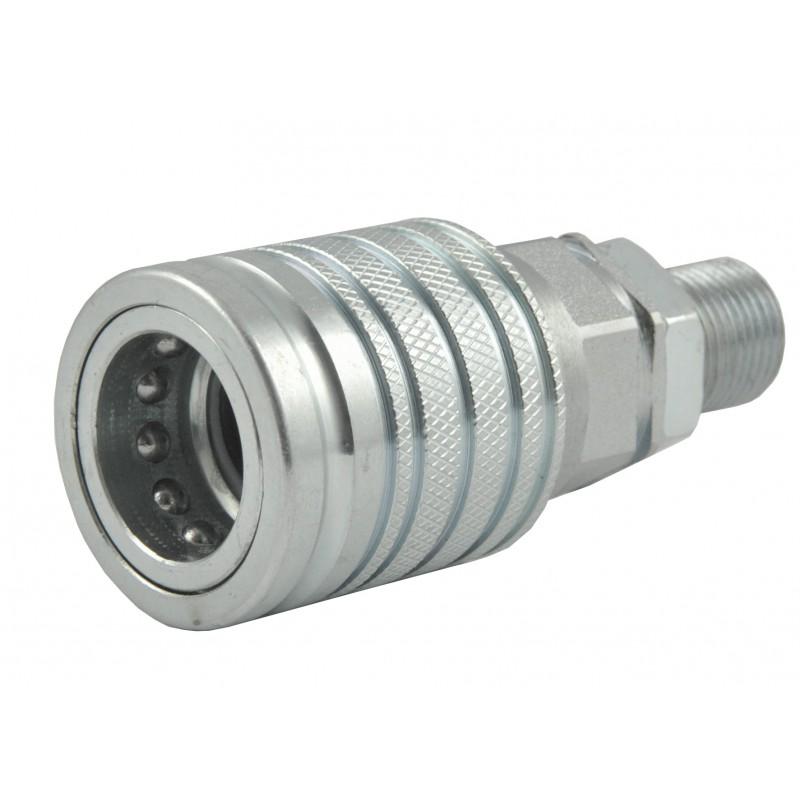 Hydraulic Connector M18x1.5 12LC Socket