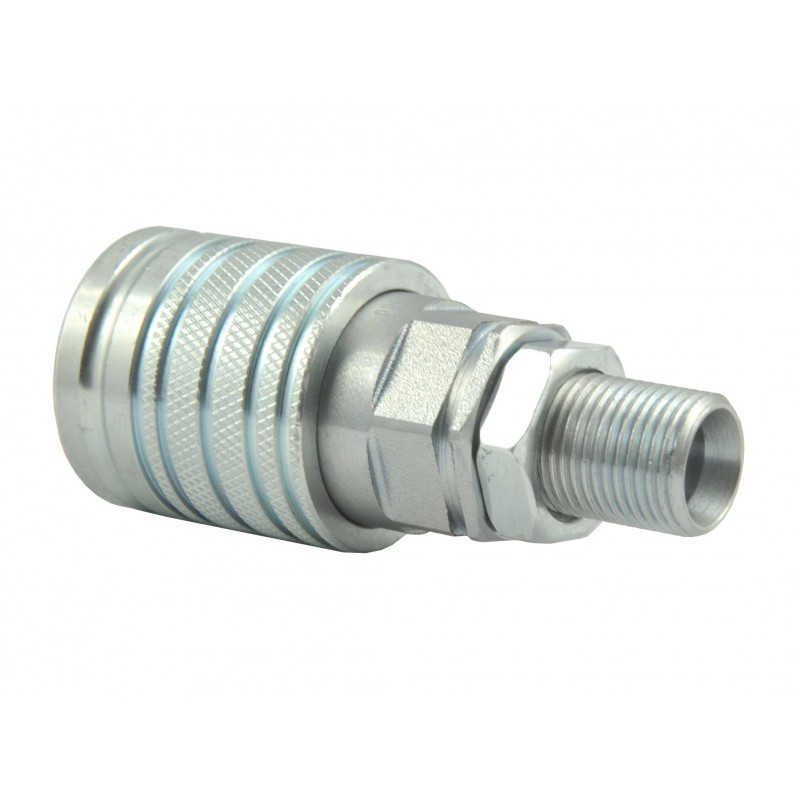 Quickly a EURO hydraulic connector M18x1.5 12LC socket