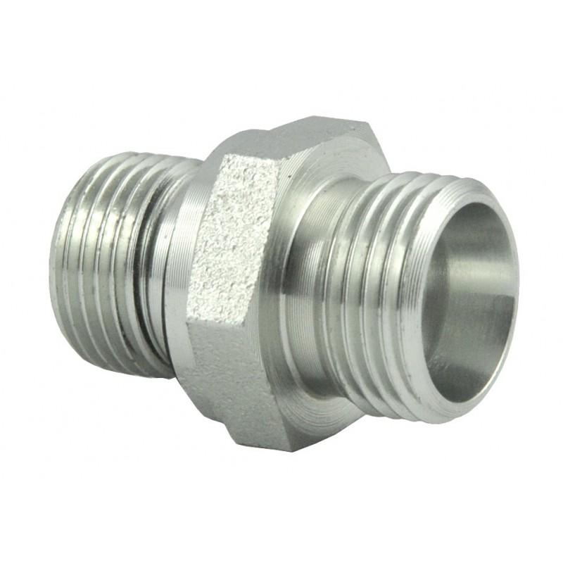 Nypel M18X1,5 3/8 złącze proste z uszczelką