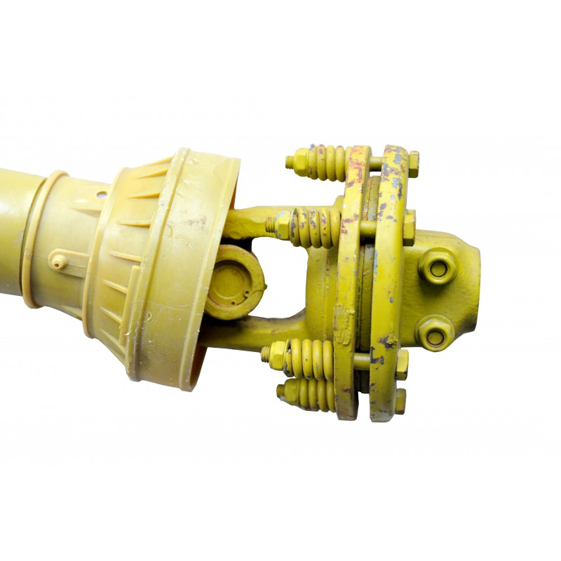 """1 3/8"""" 6T Shaft with PTO friction clutch 045B-ED, 200 cm long"""