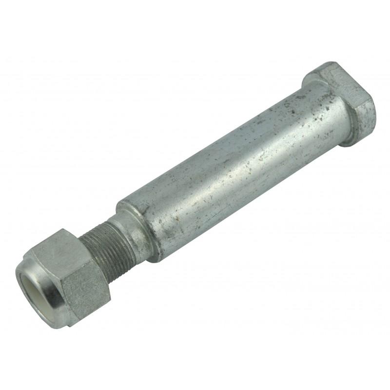 Bolt with thread and nut 213 x 40 mm flail mower arm AGL125
