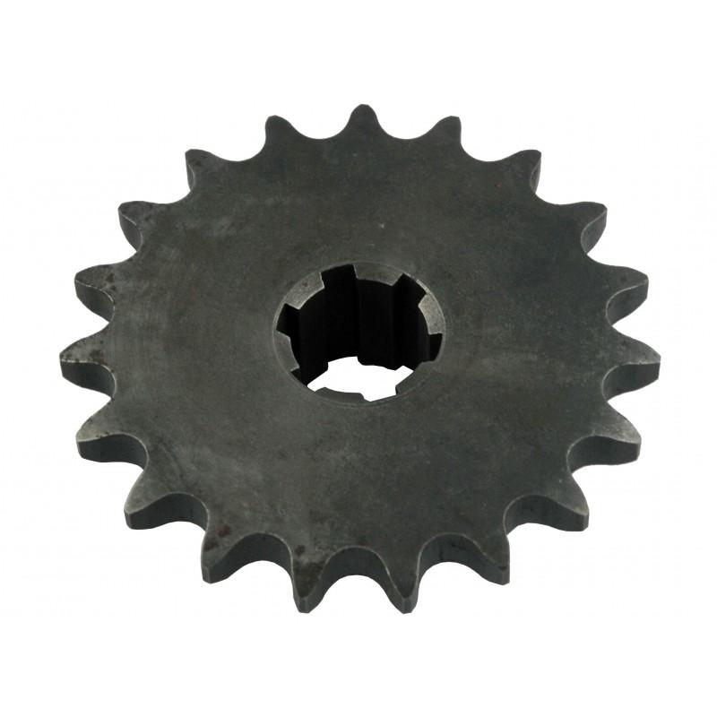Getriebe 124x34 mm 19Tx6T für SB-Fräser