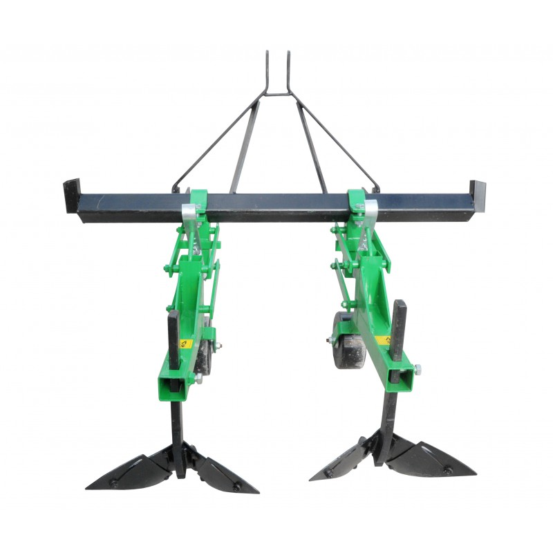 2-section single-row potato lister