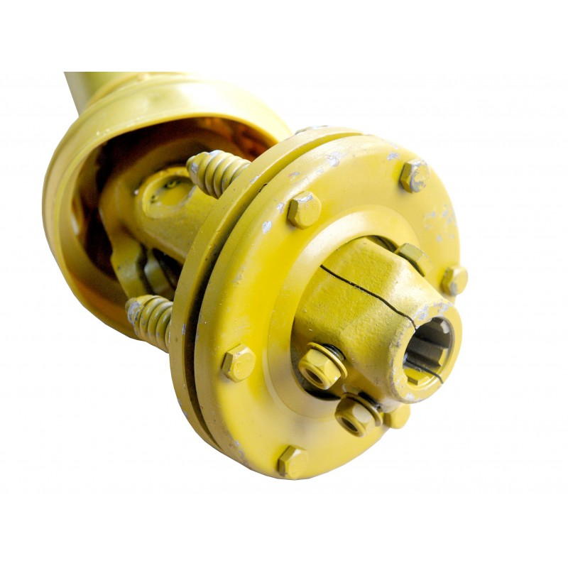 """1 3/8"""" 6 t Shaft with PTO friction clutch 045B-ED, length 100 cm"""