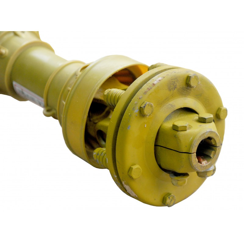"""1 3/8"""" 6t Shaft with PTO friction clutch 045B-ED, length 80 cm"""