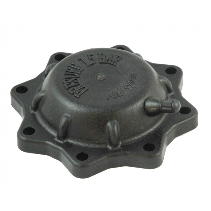 Air collector cover PU2/120-02 with valve for sprayer pump