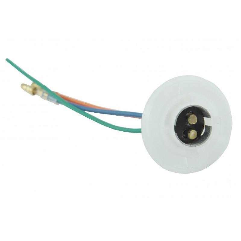 Bulb socket Kubota -two-filament bulb