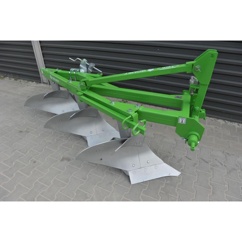 Three BOMET furrow plow
