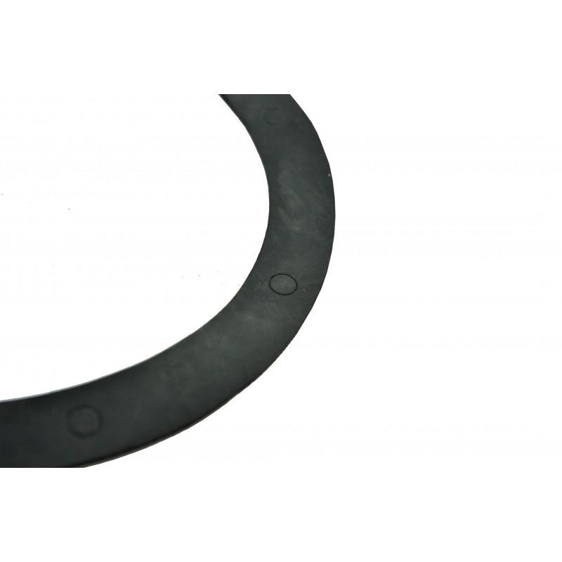 Cork pad, Rubber pad, gasket under the cover of the V-belts of the separating tiller