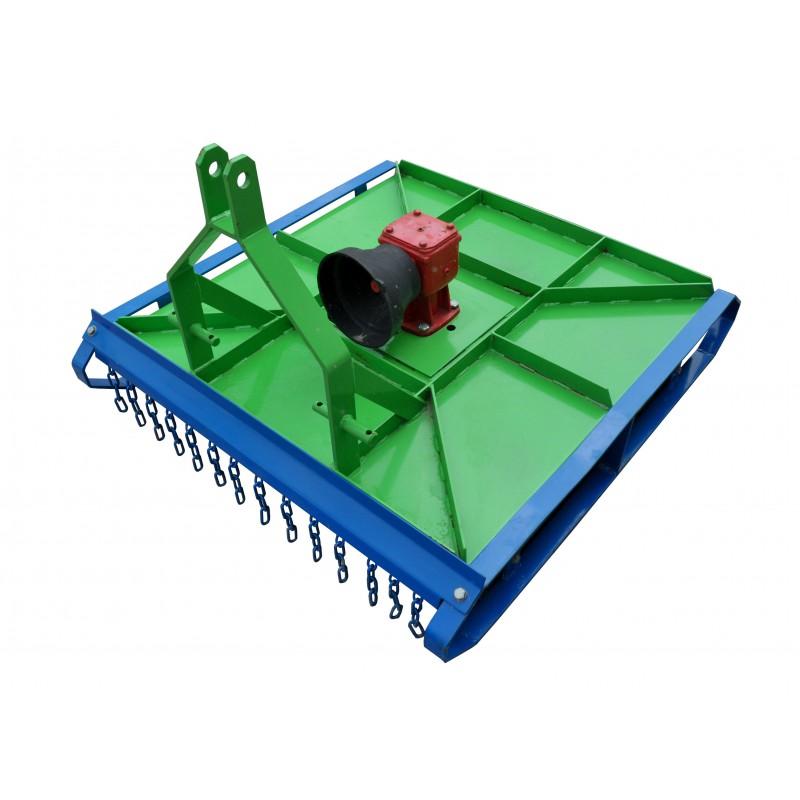 Lawn mower grass shredder 100 cm wide REINFORCED CONSTRUCTION