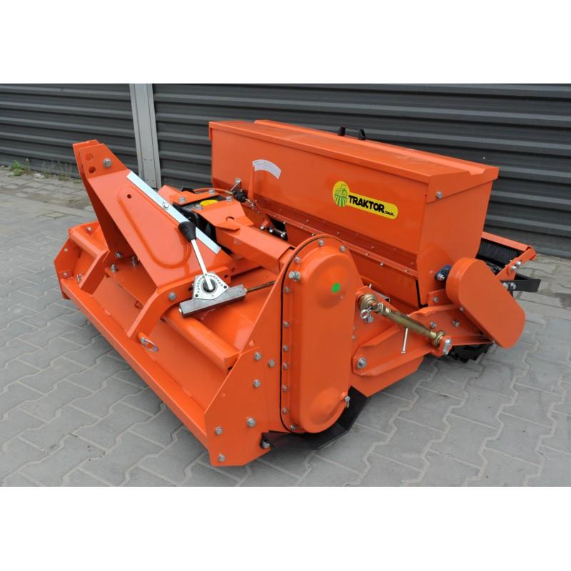 Soiler mit Sämaschine GEOGRASS SB125 Grubber