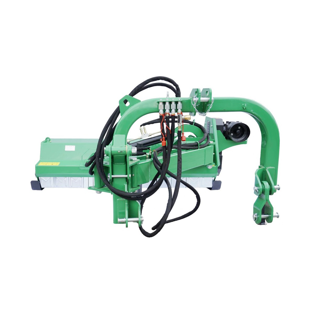 Flail Mower with an outreach arm AGF 160 with valves