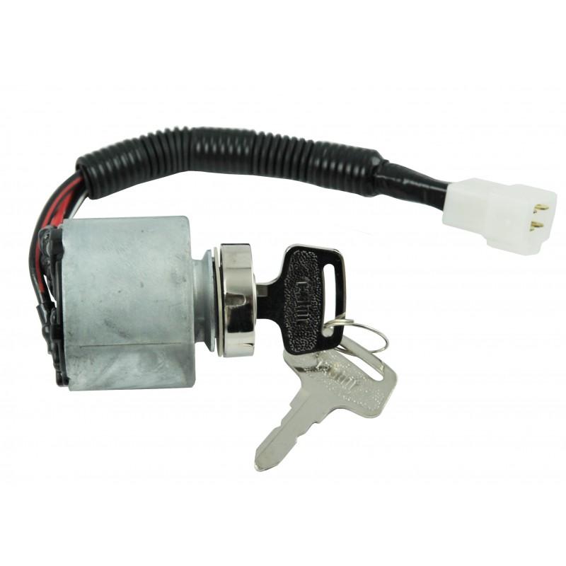 Ignition lock starter Kubota L3800H, L4300DT, HP30000674, 5 37410-59110, B1550D (4wd), T04201, B1550D (4wd), T04202