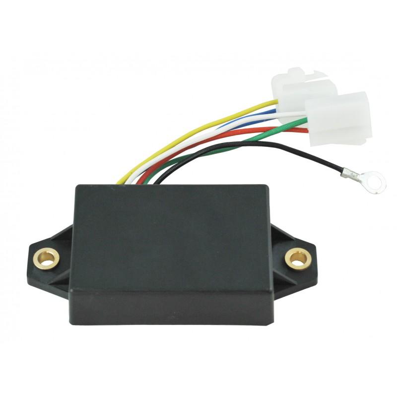 Mitsubishi K3A / B / C / D / E, S3L, S4L, MM409675 voltage regulator