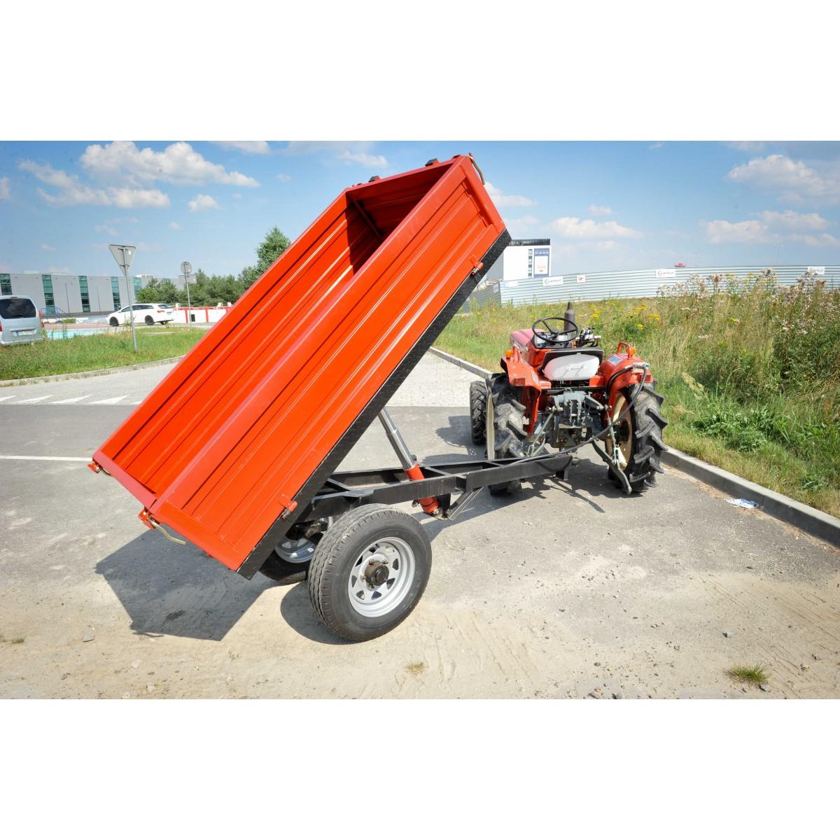 Tipper trailer 7CX-1 (E) n
