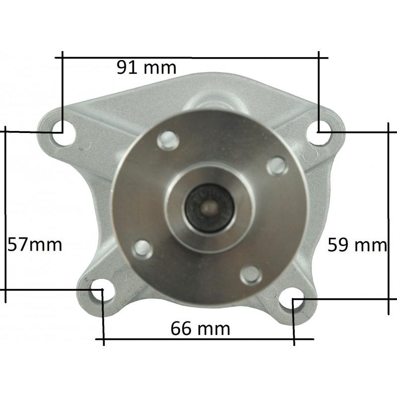 Kubota V1512 water pump, 15425-73037.