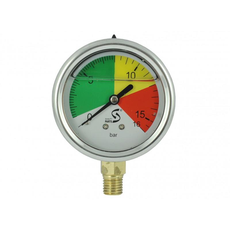 The glycerin manometer of the orchard sprayer clock Demarol, Tad-Len