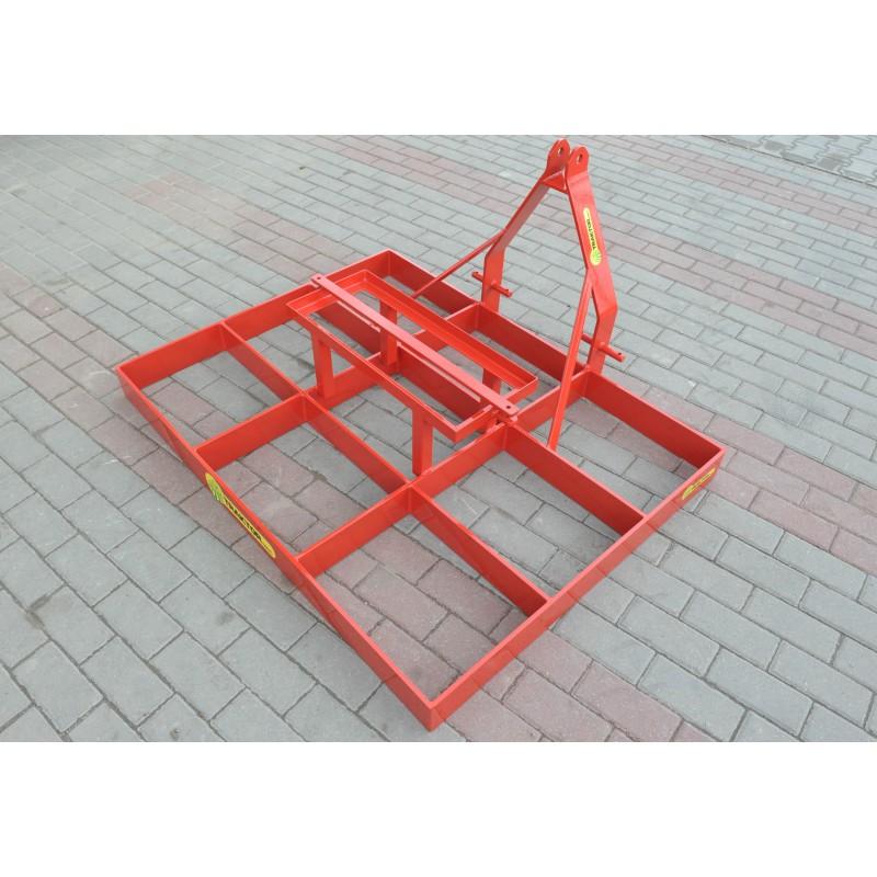Grader Leveller 1600 mm Fachwerk Equalizer auf den Boden
