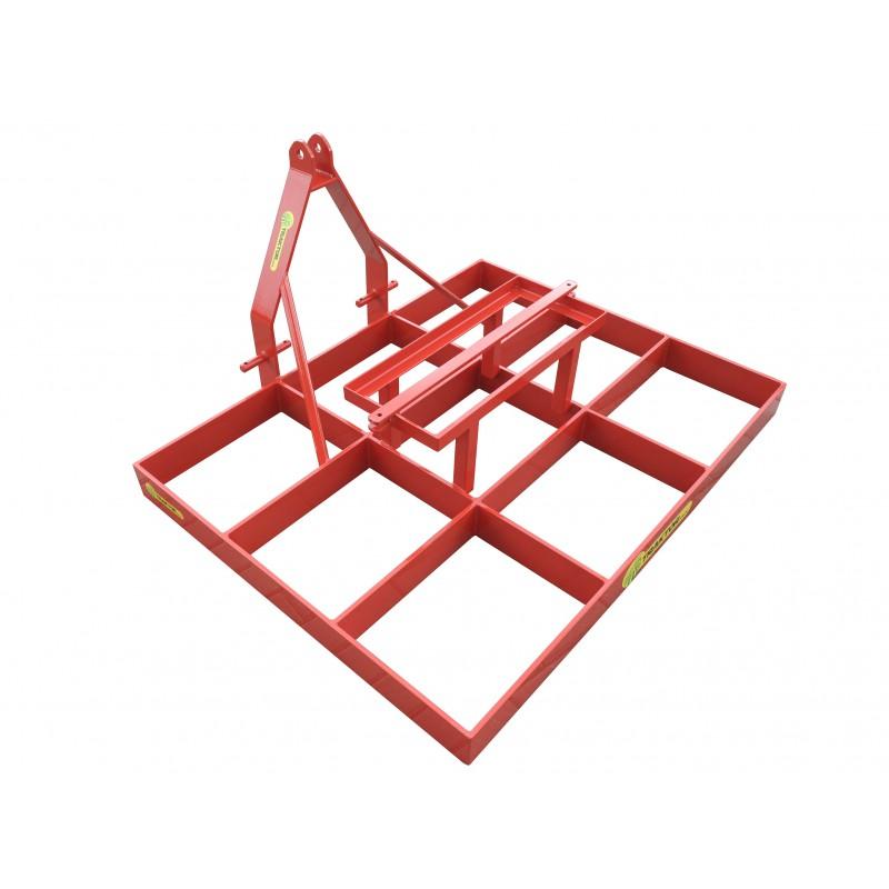 Równiarka niwelator 1600 mm kratownica wyrównywarka do ziemi