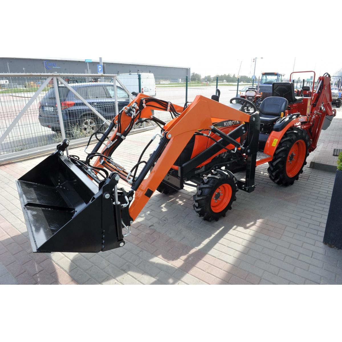 Kubota B2741 4x4 27HP + loader + LW-5 excavator