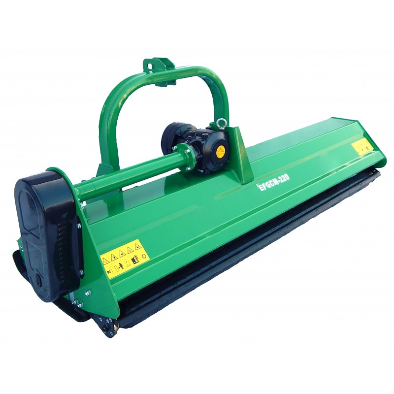 Heavy class flail mower (mulching), model EFGC220M