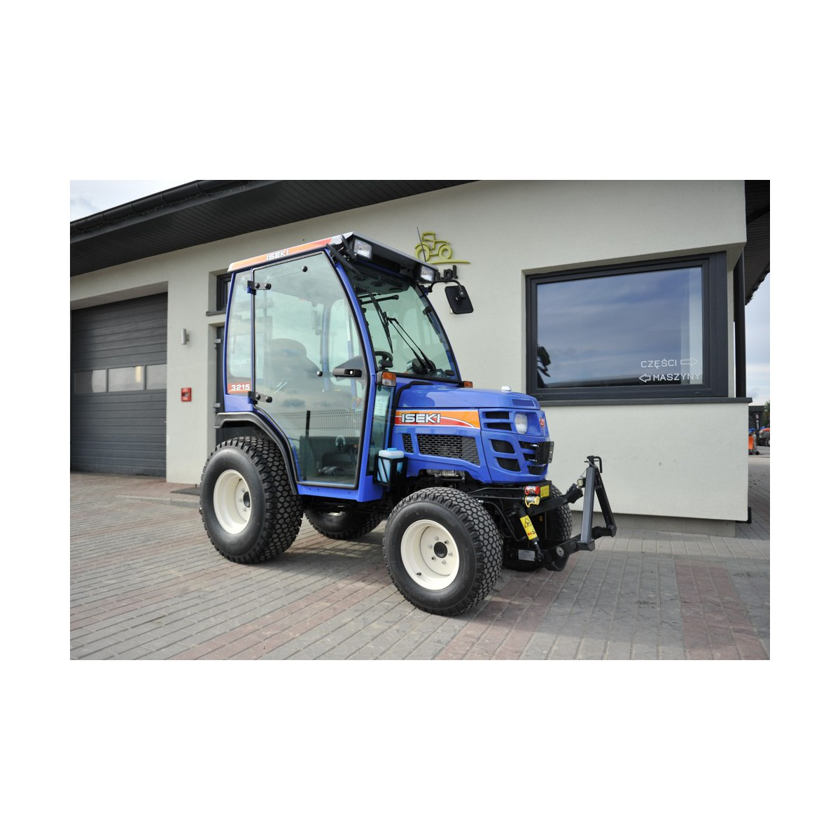 Iseki TM3215 AL with a cabin and front linkage 4x4 24KM
