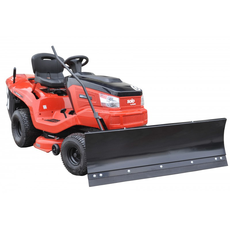 Snow plow for AL-KO mower tractor
