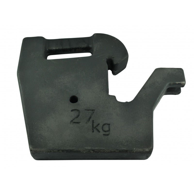 Weight, load, ballast for the tractor 27 kg