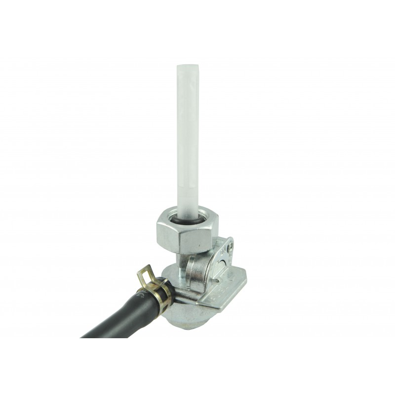 Faucet with fuel filter and cable for ATV120 mower