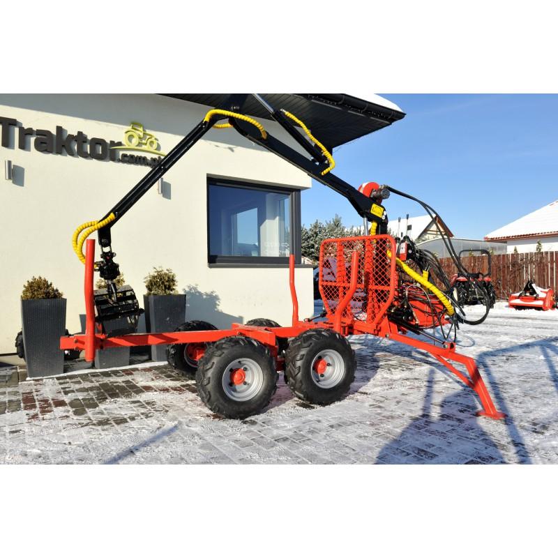 Holzanhänger mit Kran, Lader LT1500 HDS 1.5T / 300 kg