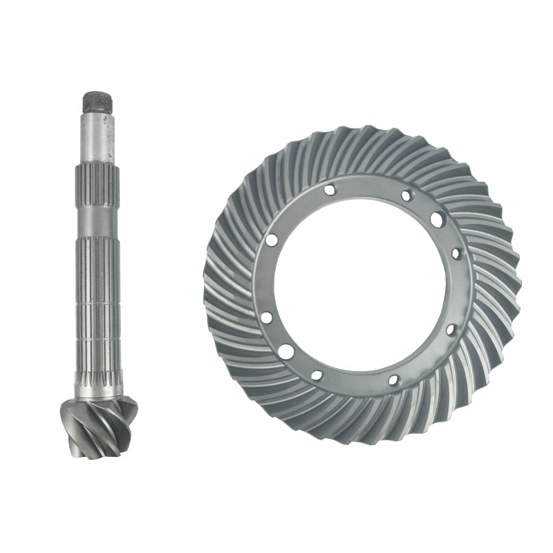 Crown Wheel + Pinion 37T ring wheel, 265 mm 6T / 24T attacking shaft, 265 mm