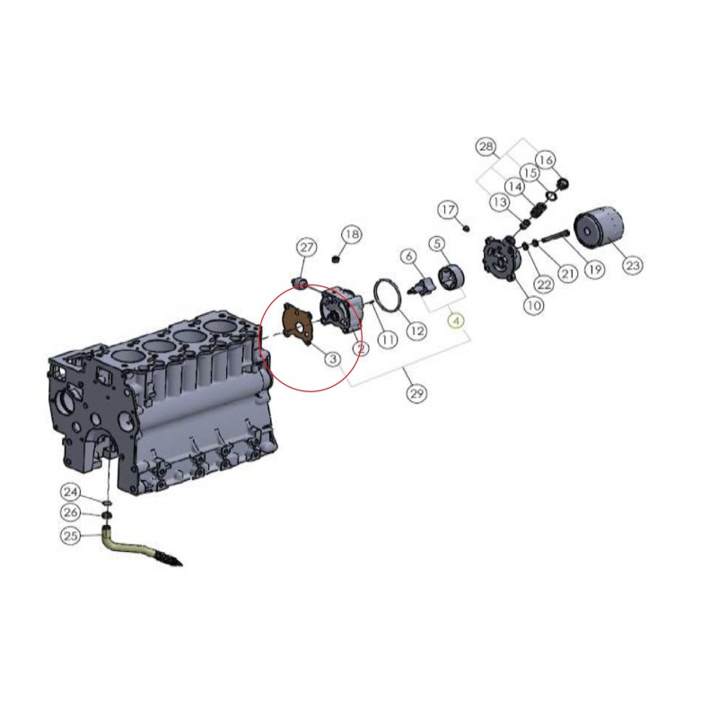 copy of Schalldämpferdichtung, Krümmerdichtung Mitsubishi VST MT270