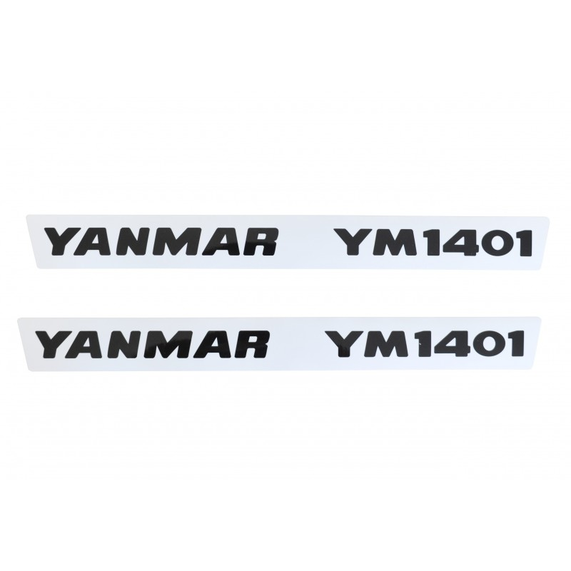 Stickers (2 pcs) Yanmar YM1401