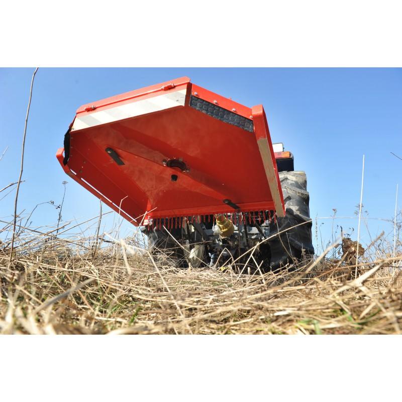 Lawn mower grass shredder KR120 width 120cm