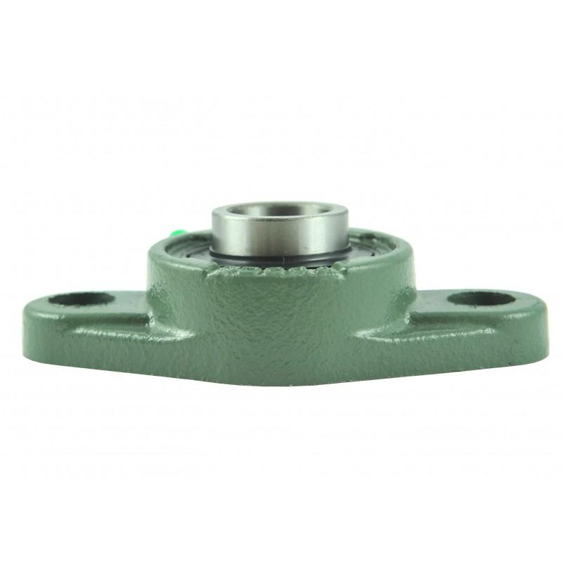 UC205 self-aligning bearing with housing 25x52x34x17mm, UCFL205 JAMA