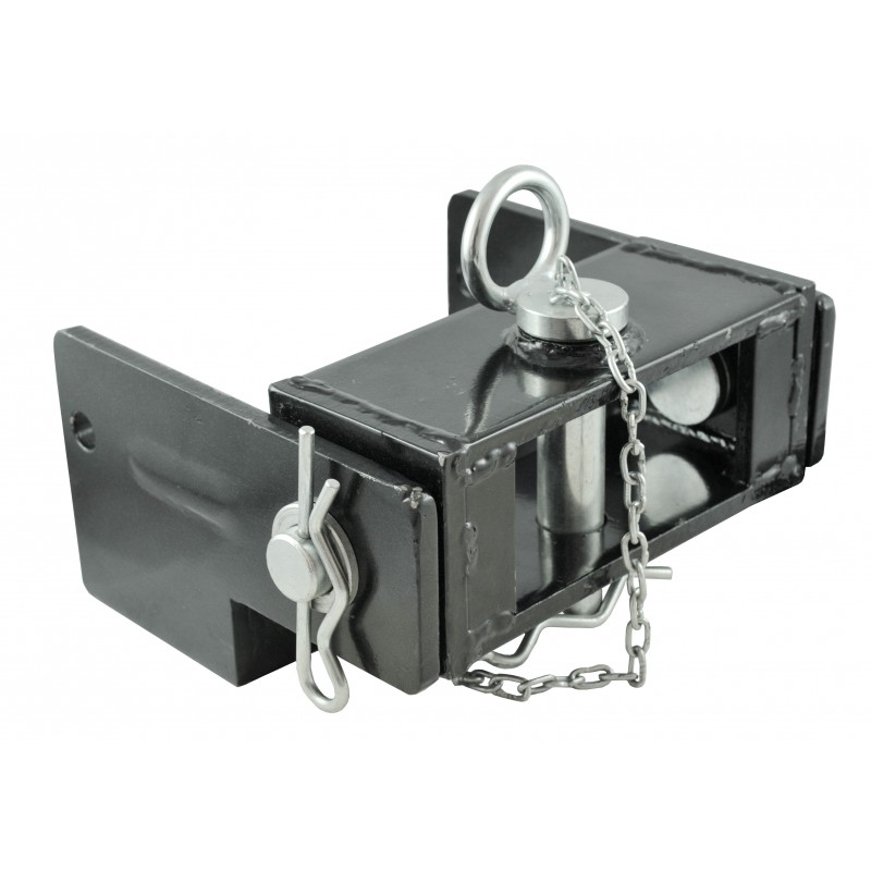Mobile hitch 62x180 mm with a pin