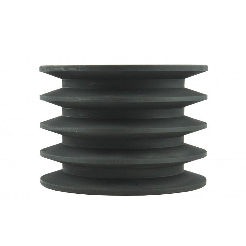 Pulley 120 x 60 x 85 mm 4 belts A17, B17 for flail mower EFG, EFGC, EFGCH, EFME, VFLA, VFSA
