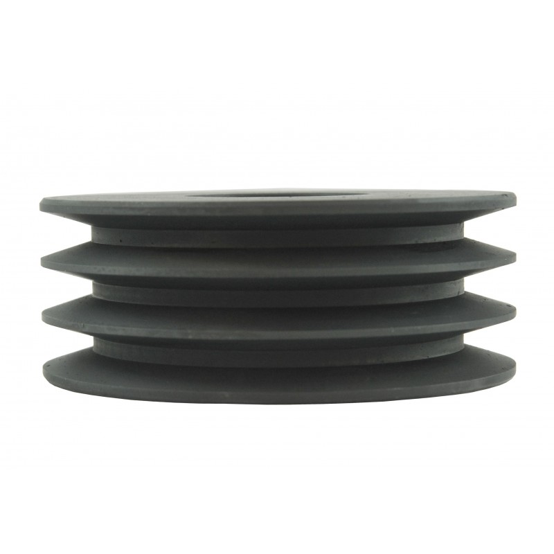 Pulley 130 x 50 x 50 mm for 3 belts A13 for flail mower