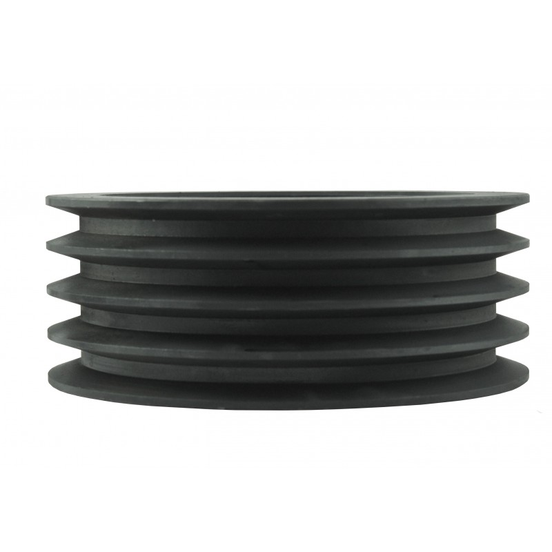 Pulley 220 x80 x 85 mm for 4 belts A17, B17 for a flail mower