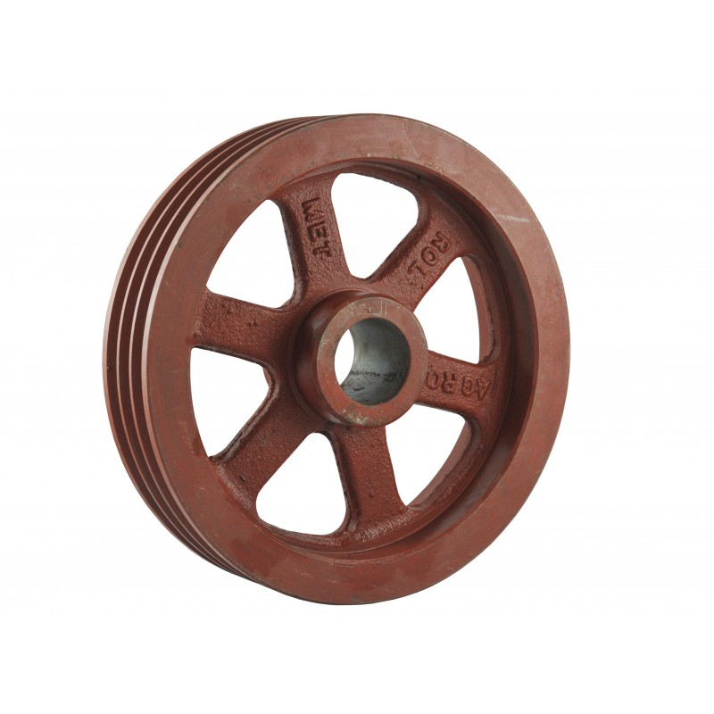 Pulley 280 x 50 x 62 mm for 3 belts A13, B13 for chipper and other machines